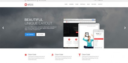 Elos   WordPress Theme