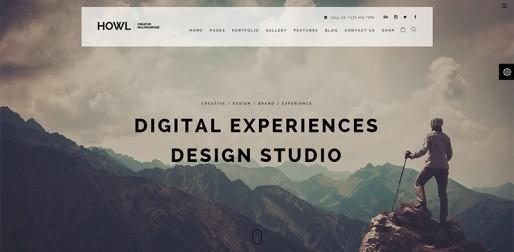 创意策划多用途主题网站模板
